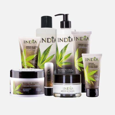 8 stk Hamp kosmetik produkter