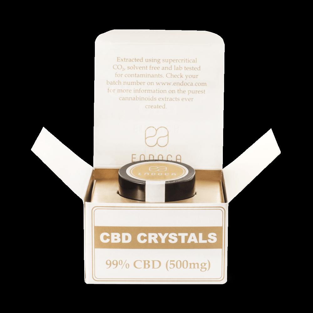 Image of   CBD Krystaller 99% - 500mg CBD