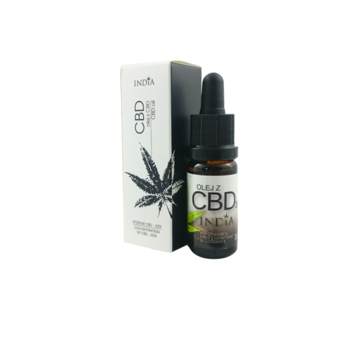 CBD Hampolie Dråber 20% uden THC