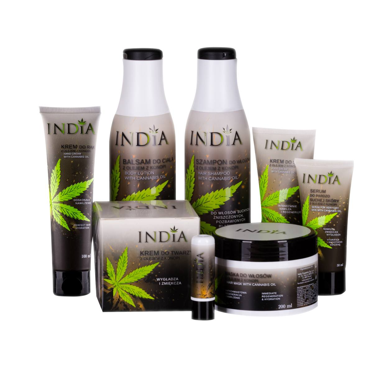 Image of   INDIA Cosmetics Gavesæt