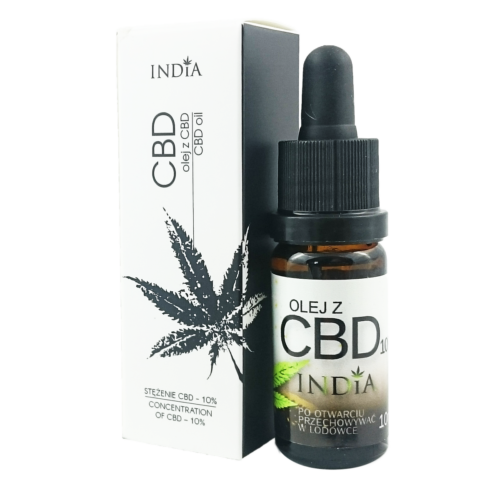 CBD Hampolie Dråber 10% uden THC