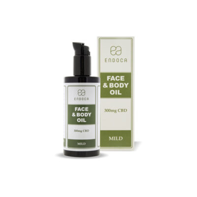 CBD Face and Body Oil fra organiske abrikoskerner og hamp ekstrakter